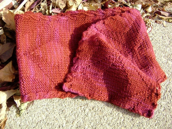 Grand Avenue Scarf (knitting pattern)