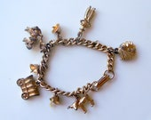 Vintage Cowboys and Indians Theme Charm Bracelet DIY Mixed Charms Lot