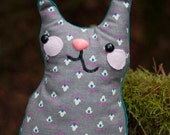 Dawson - Sweet Snuggly Whimsy Kitten Stuffed Cat or Decorative Pillow