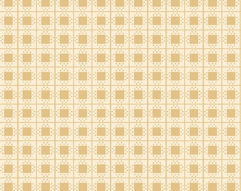 Beatrix Potter's Mrs. Tiggy-Winkle Fabric Collection - Mustard Gingham - 1 Yard