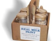 Wedding Registry Reserved Milk Paint Gift Box For Newlyweds