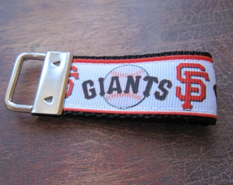 San Francisco Giants Inspired Keychain Fob