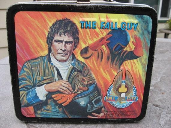 1981-Fall Guy Lunch Box.....