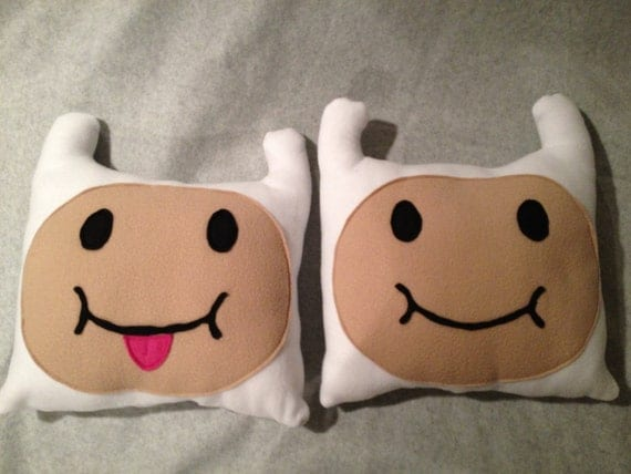 Adventure Time Inspired Finn Pillow