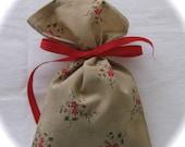 Handmade Cotton Lavender Filled Sachet