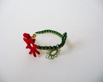Handcrafted  bracelet  Floweret - for Baby
