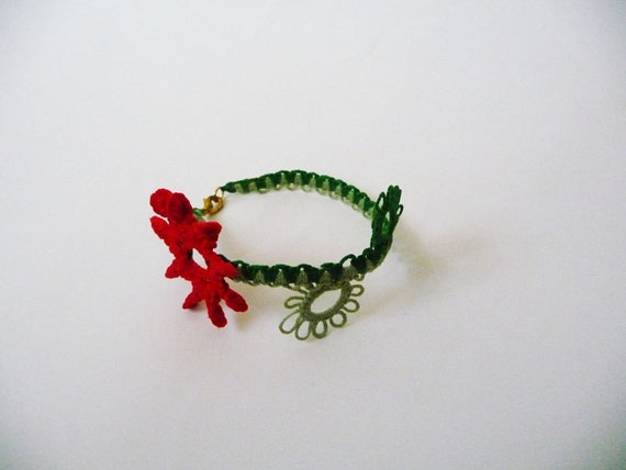 Handcrafted  bracelet  Floweret - for Baby