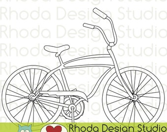 Old School Retro Bike Clip Art Vintage Bicycle