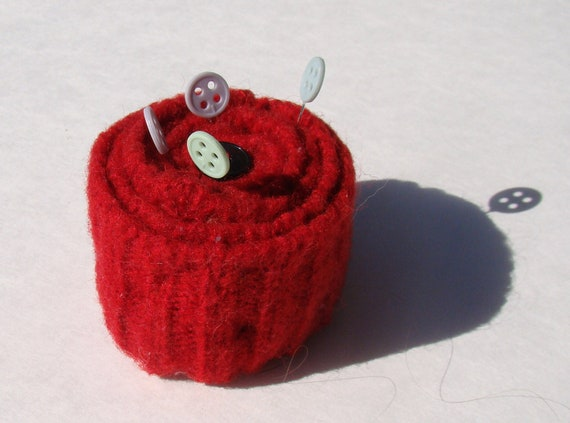 Felted Wool Pincusion