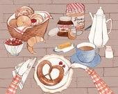 German Breakfast 8.5x11