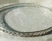 Bordered German Silver Circlet