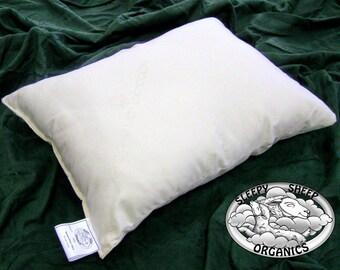 Wool Pillow, Standard Size 20x25