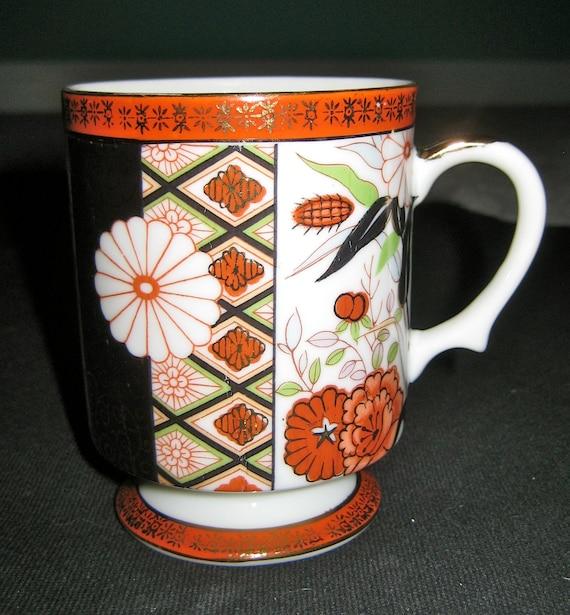 Oriental Blossoms Mug