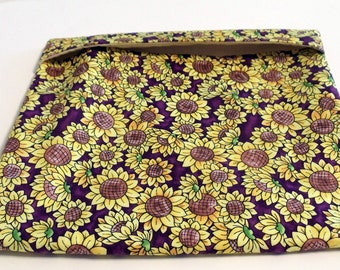 Microwave Baked Potato Cooking  Bag Autumn Sunflowers