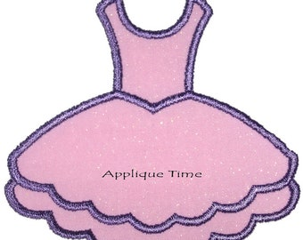 Instant Download Tutu Machine Embroidery Applique Design 4x4, 5x7 and 6x10