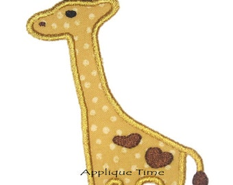 Instant Download Giraffe Machine Embroidery Applique Design 4x4, 5x7 and 6x10