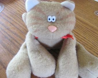Vintage Hallmark Sewn Toy Cat 1985
