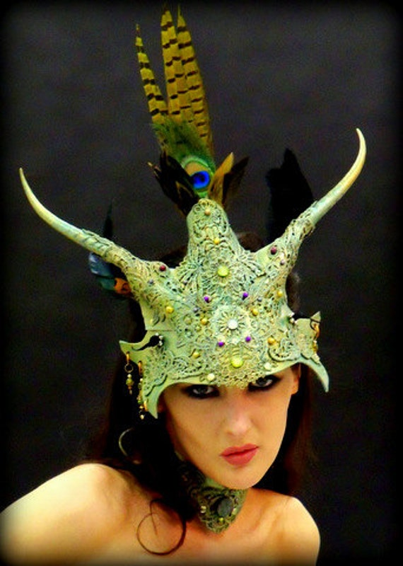 Fae Warrior...Headress and collar