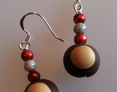 OHIO STATE Buckeye Earrings