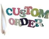 Custom Order - SAM