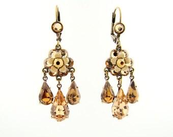 The Sea and Sun Chandelier earrings- 200109-2900 Orly Zeelon