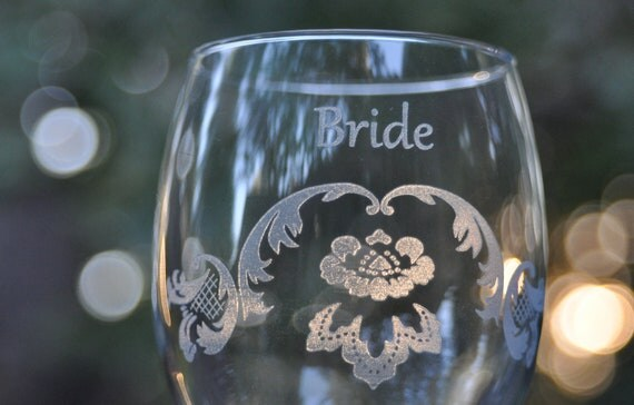Wedding Wine Glasses Crystal - multiple designs - you select quantity