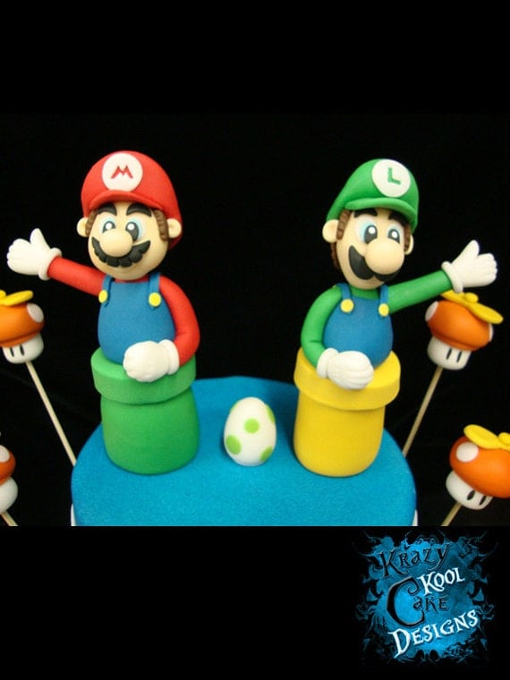 Luigi Cake Topper