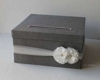 Wedding Card Box Money Holder Gift Card Box - Custom Made to Order