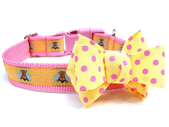 Dog Collar Bow Add-On 3 Colors Available