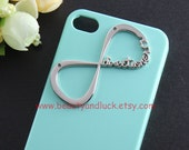 INFINITY ONE DIRECTIONER -  Infinity One Direction Mint Green case for iphone 4/4s