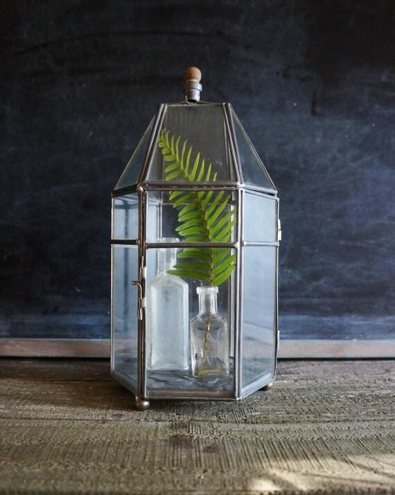 Glass Terrarium, Green House- Free Shipping