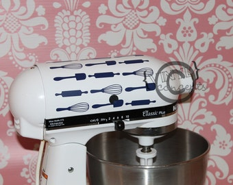Kitchen Aid Mixer Utensil Decal - Vinyl Wall Art