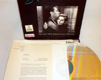 S@LE ! Classic 1940 Alfred Hitchcock Rebecca Laserdisc LD The CRITERION Collection Laser Disc Laserdisk Laurence Olivier Joan Fontaine 1940s