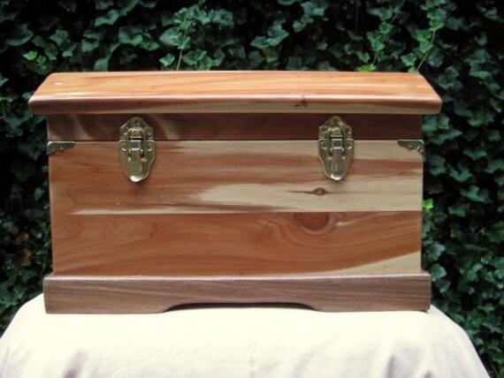 Cedar Treasure Chest Box