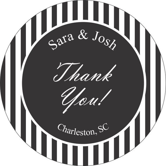 Personalized Wedding Stickers with your text and colors -  Compare and Save