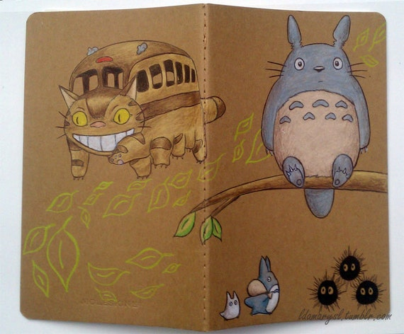 My Neighbor Totoro Journal (Made to Order)