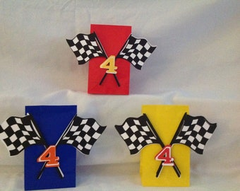 Race Car Party Bags