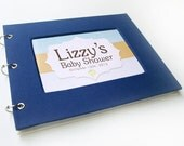 Baby Shower Guest Book - Navy Blue