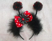 Ladybug Headband with Antennas