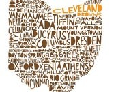 OHIO Cleveland Browns special edition print