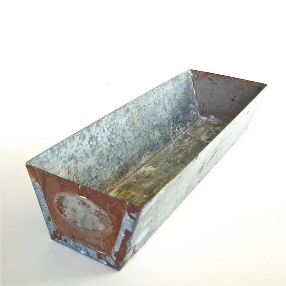 Galvanized Metal Utility Tray Pan