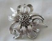 Coro Flower Brooch