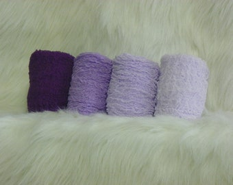 Photography Props...Hand Dyed Cheesecloth Wraps...Baby Photo Props...Purple Wraps
