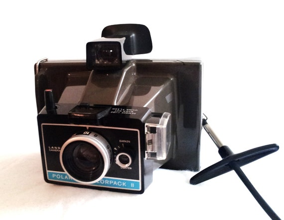 vintage polaroid colorpack ii instant film by mccaffertymade. Black Bedroom Furniture Sets. Home Design Ideas