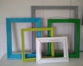 Set of 5 Refurbished Vintage Frames