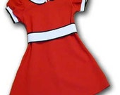 Orphan Annie red dress girls costume