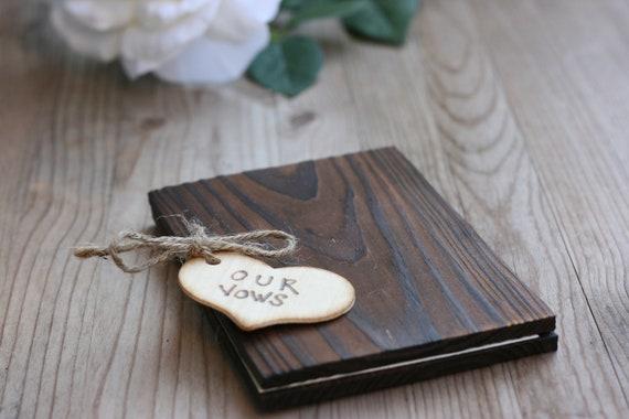 RuStic WoOd WeDdinG VoW BoOk, hand etched wood Heart, bridal gift, rustic wedding, photo prop,barn wedding, beach wedding