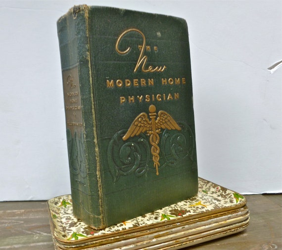 vintage medical book the new modern home by