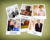 10 Mini Custom Polaroid Photos from your pictures