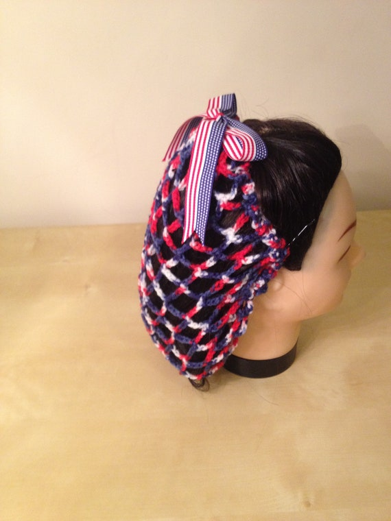 Patriotic Vintage American Snood